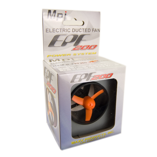 Mini Turbo Fan - MP-EPF200