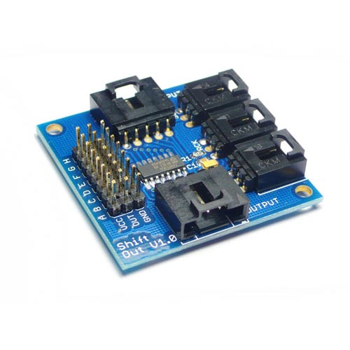 Electronic Brick - Shift Out Board v1.0 - SS-ELB113E4M