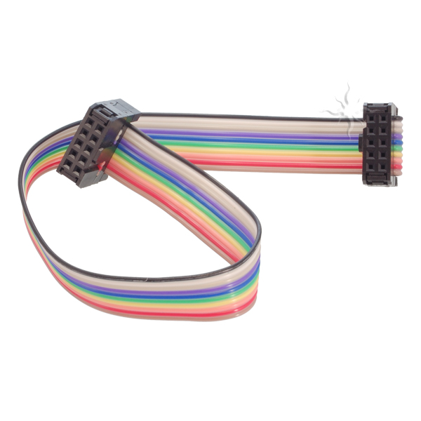 Electronic Ribbon Cable Connectors : Electronic brick pin ribbon cable