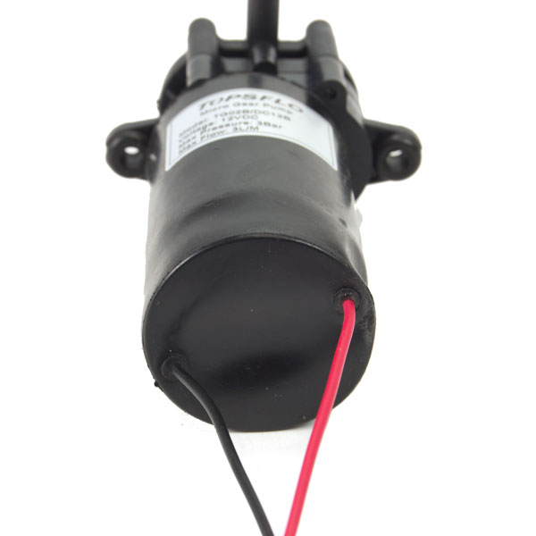 12v DC Motor Pump - bottom view