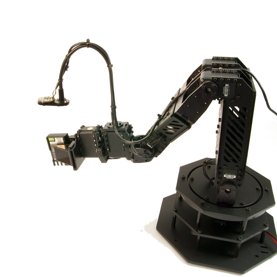 RobotGeek Webcam with 250mm Gooseneck - KIT-GOOSECMRA