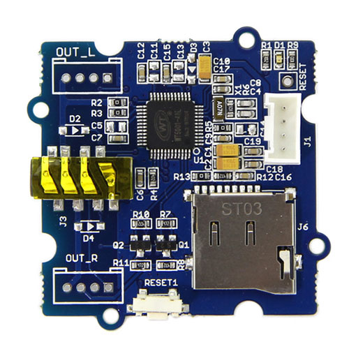 Grove - Serial MP3 Player Board Photo