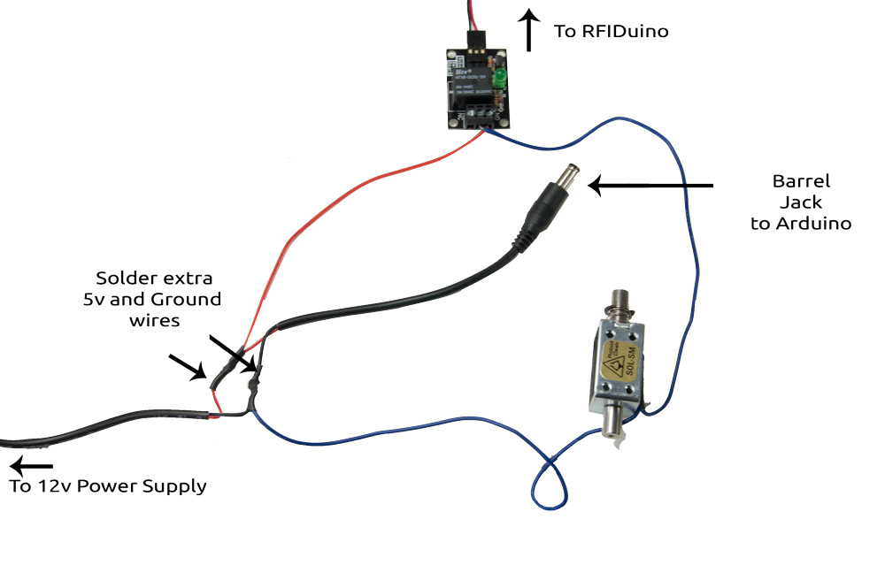 RFIDuino_solenoid_power2 rfiduino project 2 how to wire a line out converter diagram at n-0.co