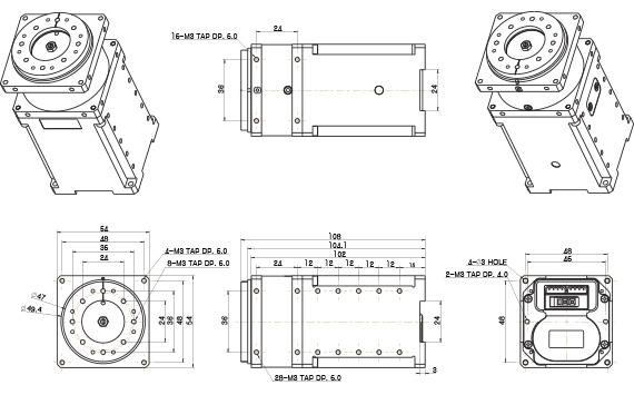 PRO L54-50-S290-R SERVO MOTOR ile ilgili görsel sonucu