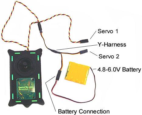 Servo Joystick Controller