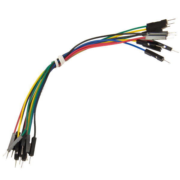 150mm Jumper Wires M/M (Set of 10)