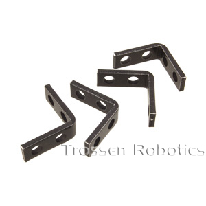 E-Z Aluminum Servo Bracket Two Pack
