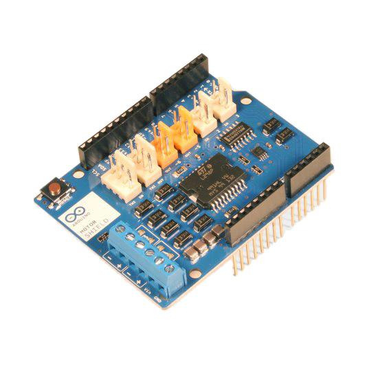 Arduino Motor Shield Top View