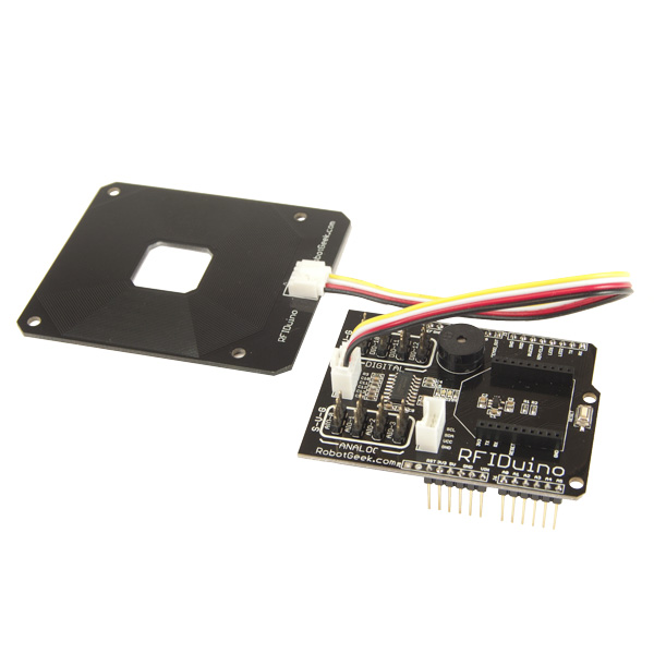 RFIDuino Shield and Antenna