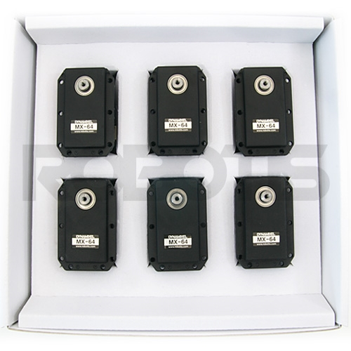 Dynamixel MX-64AT Robot Actuator Bulk (6 pack) - RO-902-0102-000