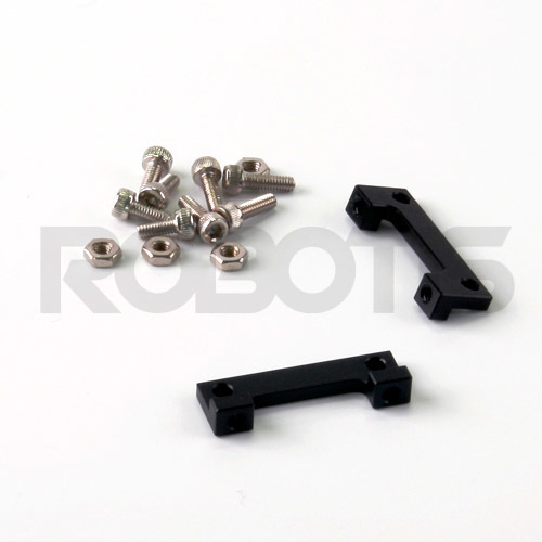 FR05-X101K Cross Frame Set RX-64, FR05-X101K, Cross, Frame, Bracket, Set, Bracket, Robotis, Dynamixel, Servo, Actuator, MX-64