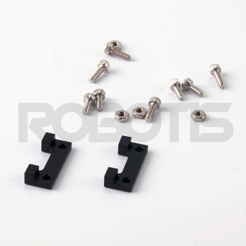 FR07-X101K Cross Frame Set RX-24F, RX-28, FR07-X101K, Cross, Frame, Set, Bracket, Robotis, Dynamixel, Servo, Actuator, MX-28