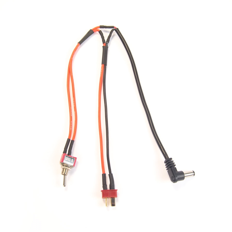 LiPo/Li-ion Battery Wiring Harness battery, wiring, harness, power, dean plug, barrel plug, battery link, lipo battery harness, lipo harness