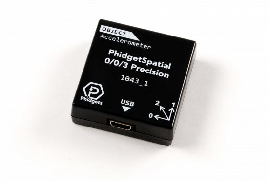 PhidgetSpatial 0/0/3 - 3 Axis Accelerometer PhidgetSpatial 0/0/3, 3 axis, accelerometer