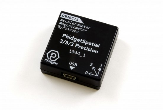 PhidgetSpatial Precision 3/3/3 High Resolution PhidgetSpatial, 3/3/3. Inertial Measurement Unit, IMU, Interia, Accelerometer, Gyroscope, Gyro, Compass, 9 axis