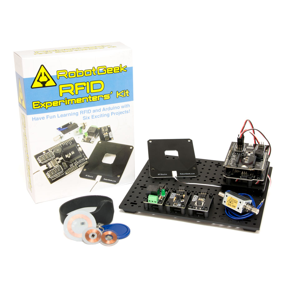 Robotgeek basic experimenter s kit