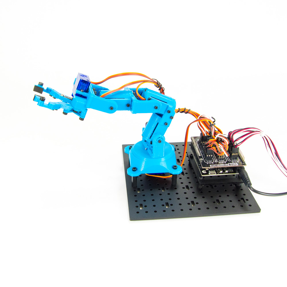 RobotGeek 9G Snapper Mini - 3D Printed Arm