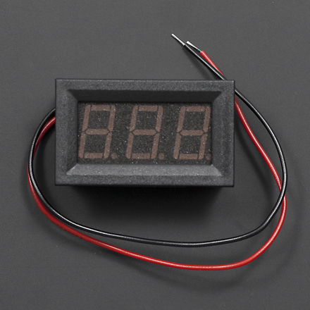 LED Voltage Meter (Red) - DF-DFR0130-R