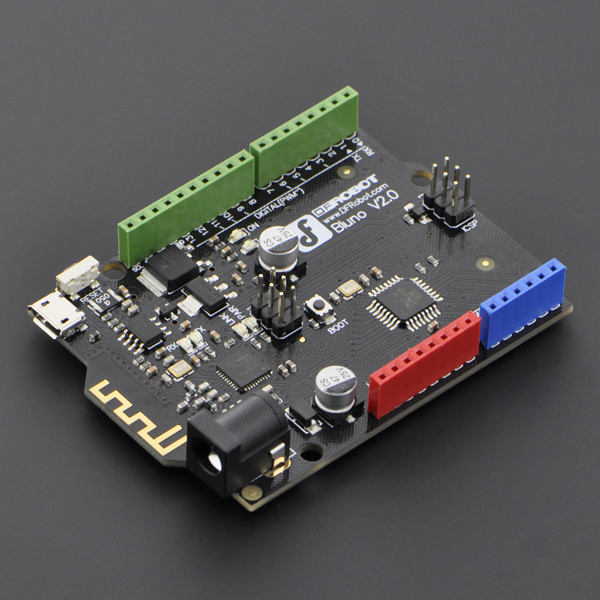 Bluno - An Arduino Uno with Bluetooth 4.0 Bluno, Arduino, Uno, Bluetooth, 4.0, dfrobot