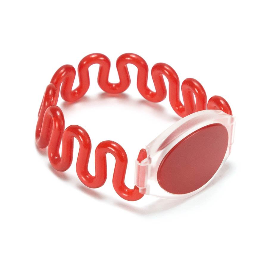RFID EM4200 Silicone Stretch Spring Wristband