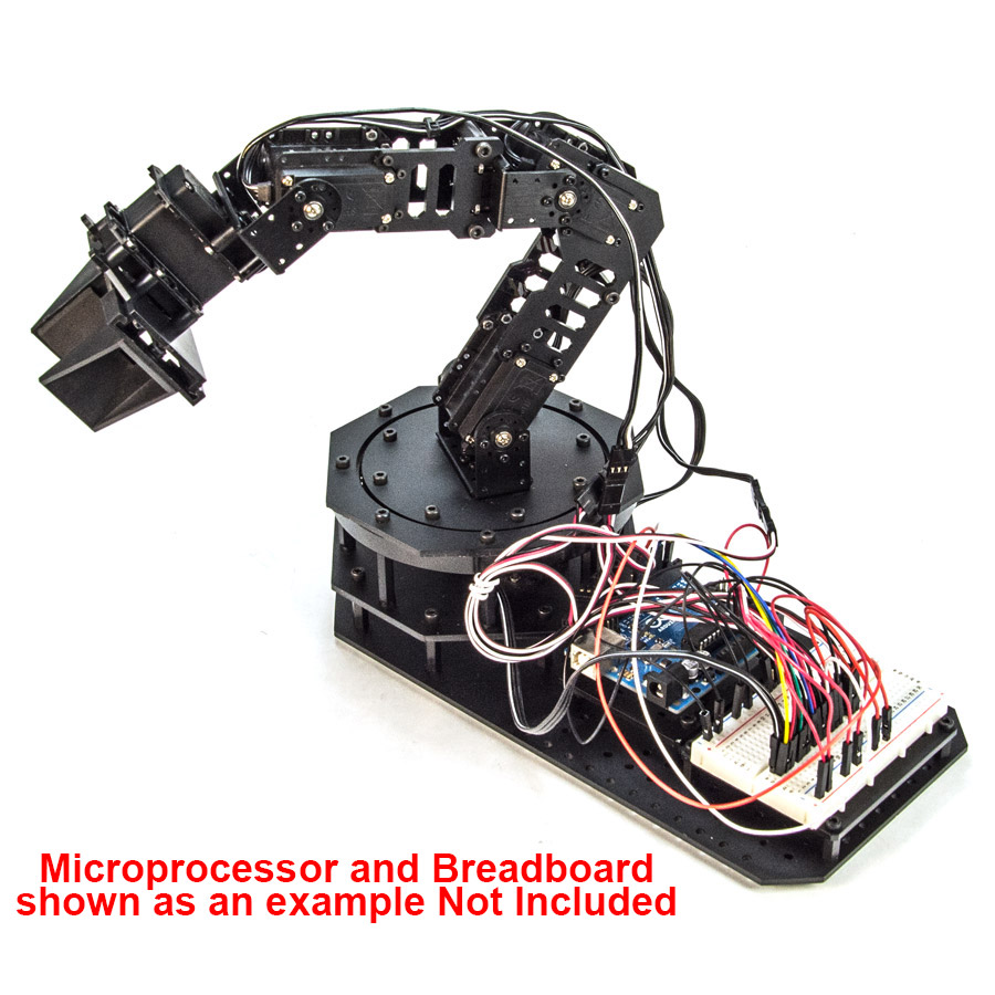 RobotGeek Snapper Core Arduino Robot Arm - RG-SNAPPER-CORE