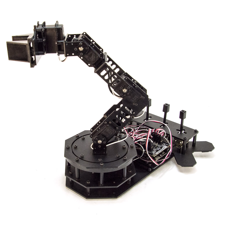 Robotgeek snapper arduino based robotic arm
