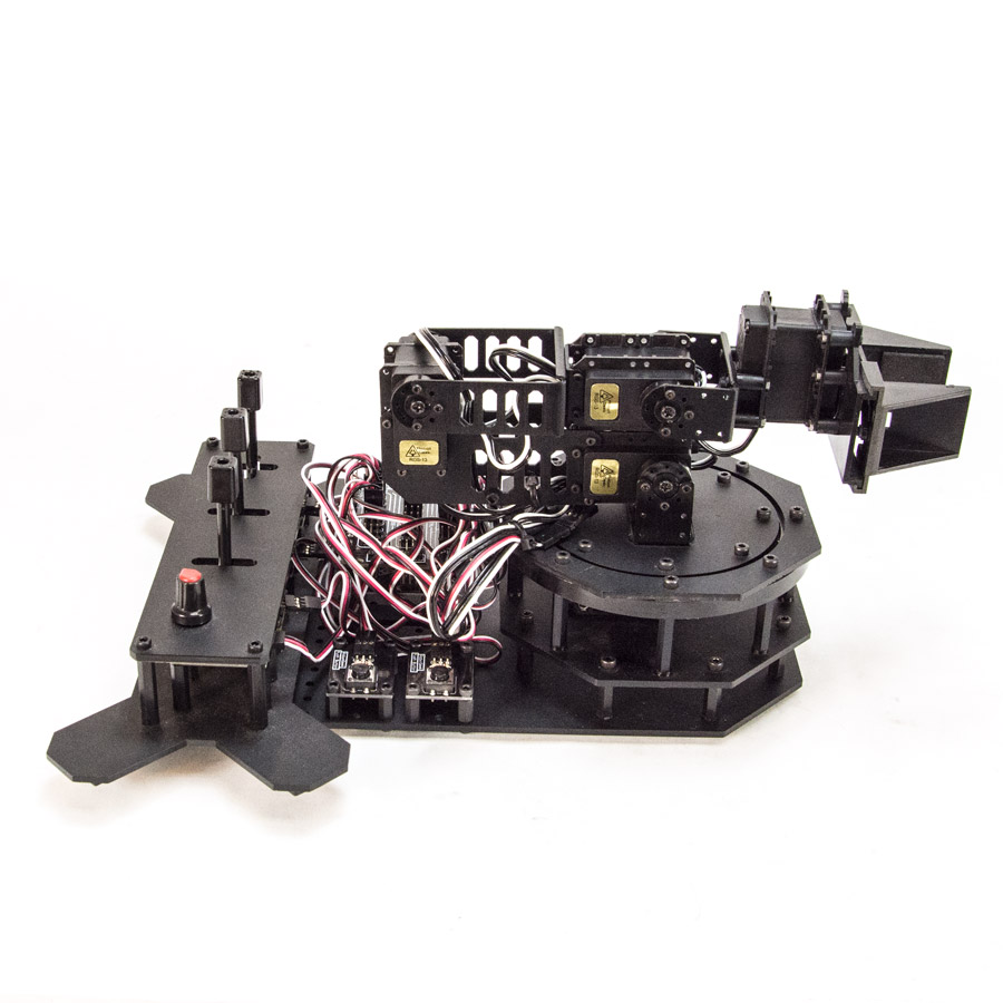 RobotGeek Snapper Arduino Robotic Arm