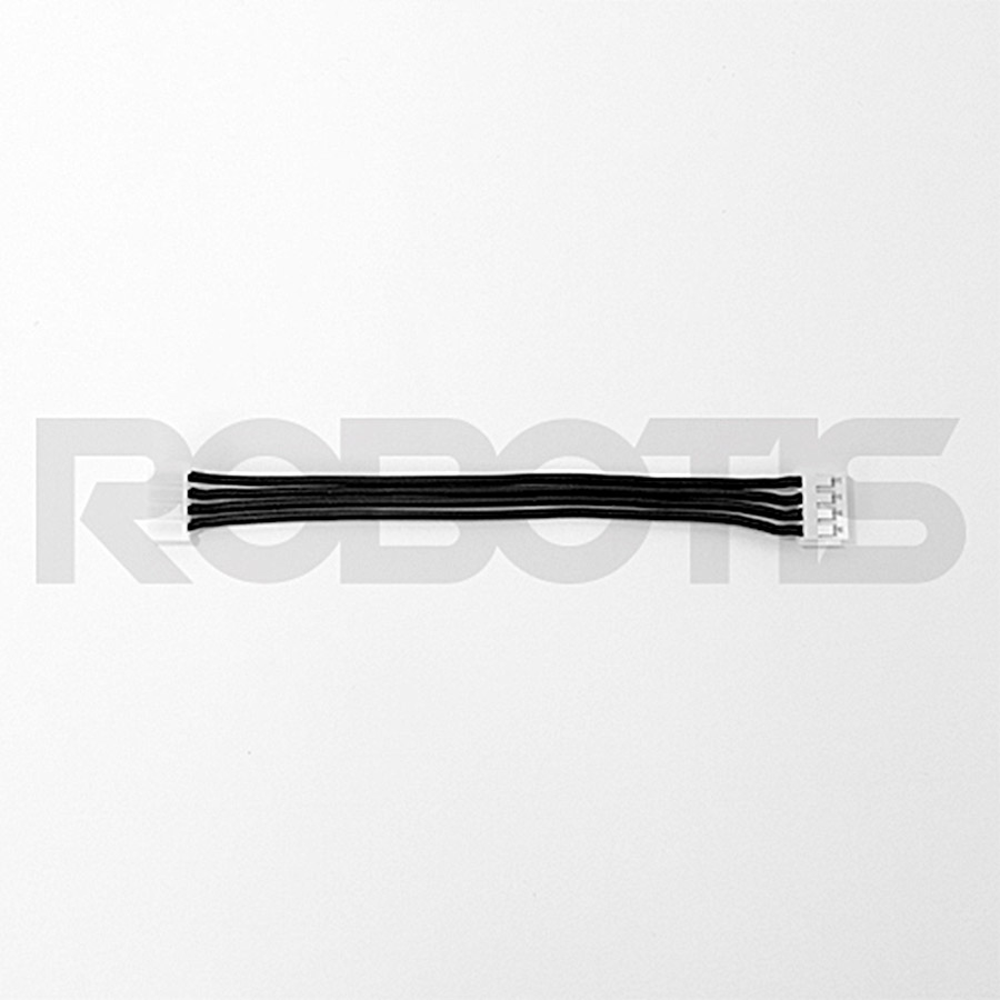 ROBOTIS ROBOT CABLE-X4P 100MM (10EA) ROBOTIS, ROBOT, CABLE, X4P, 100MM, pack, x series, wire