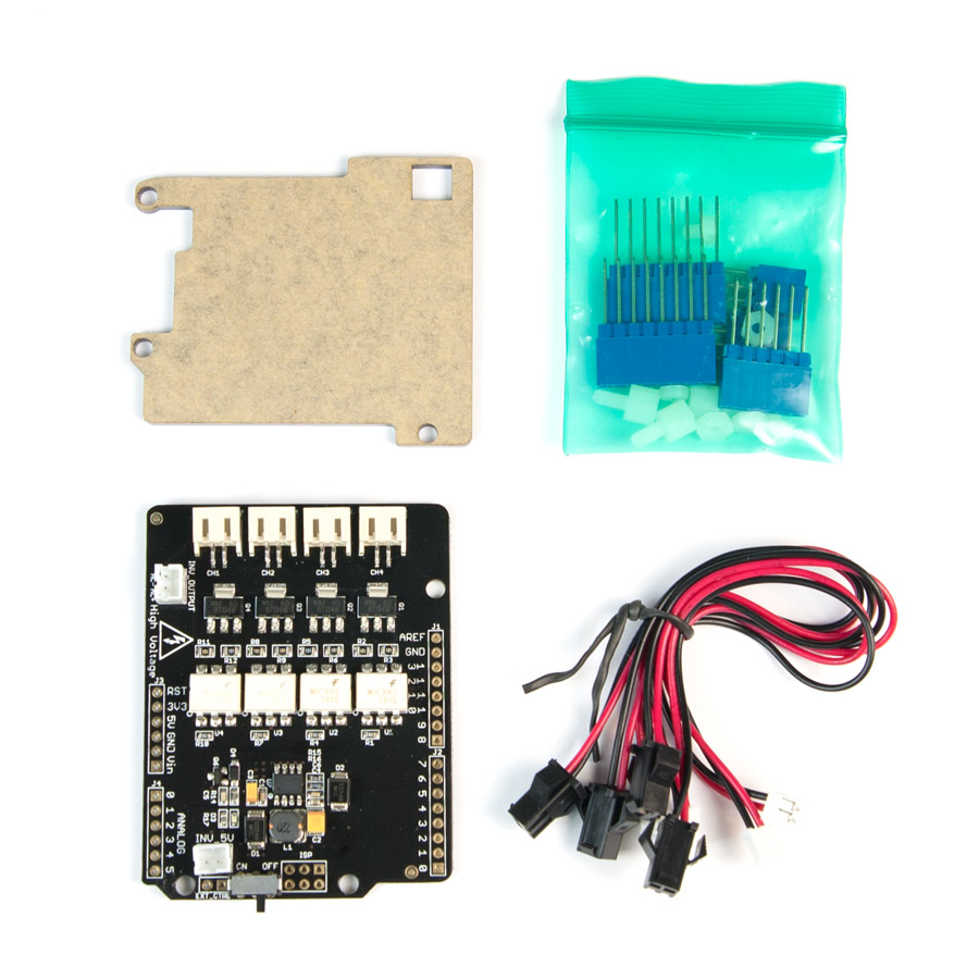 Arduino Boards Shields Kits Parts Accessories Power Tilt And Trim Wiring Diagram El Shield Wire Seeeduino