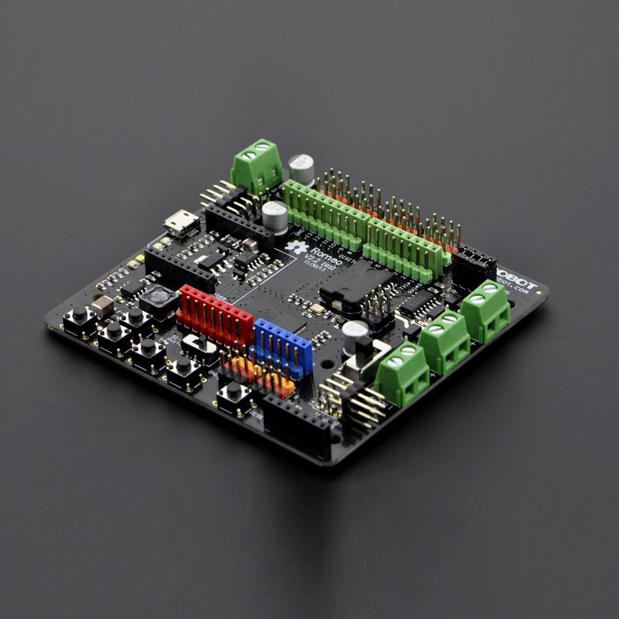 Romeo V2 - All in one Controller Romeo, V2, microcontroller, arduino, dfrobot, motor driver