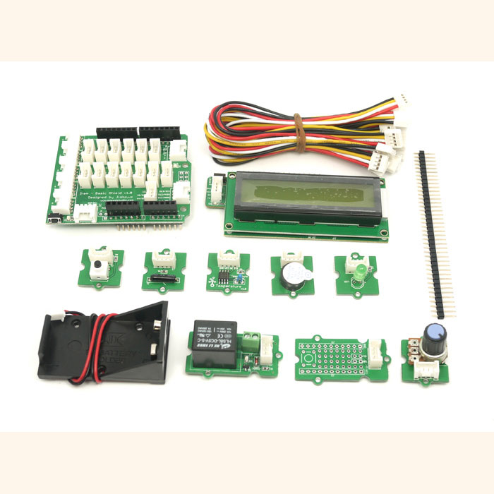 Grove starter kit with arduino