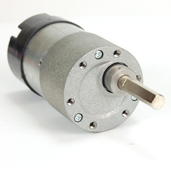 Robot Dc Gearhead Motor 6v 180rpm W Encoder