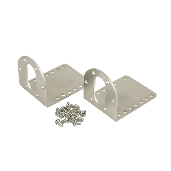 37D mm Metal Gearmotor Bracket Pair - PO-1084