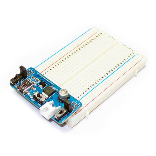 Adjustable Breadboard Power Supply - SS-TOL123D3P