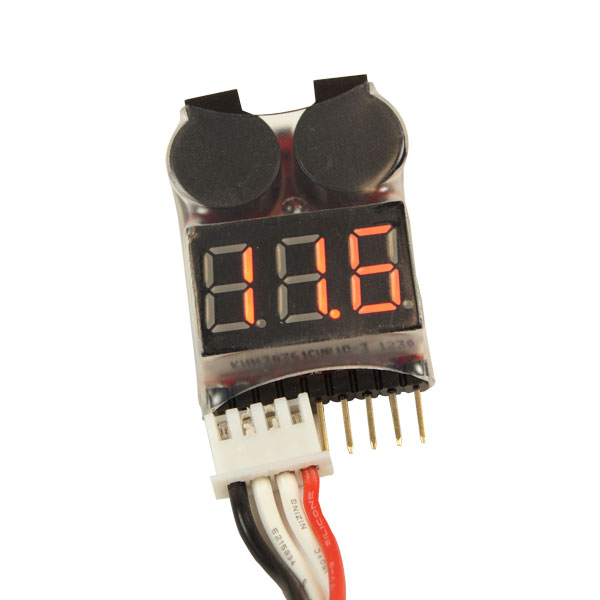 1 8s lipo battery voltage tester monitor