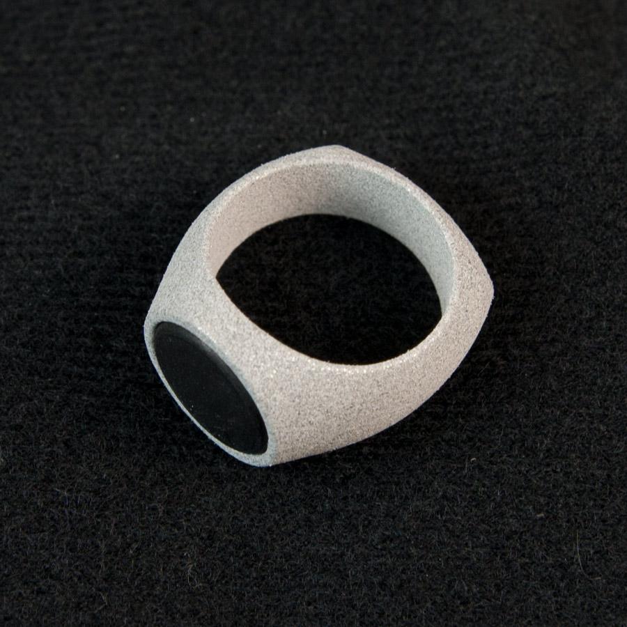 Aluminide RFID Ring