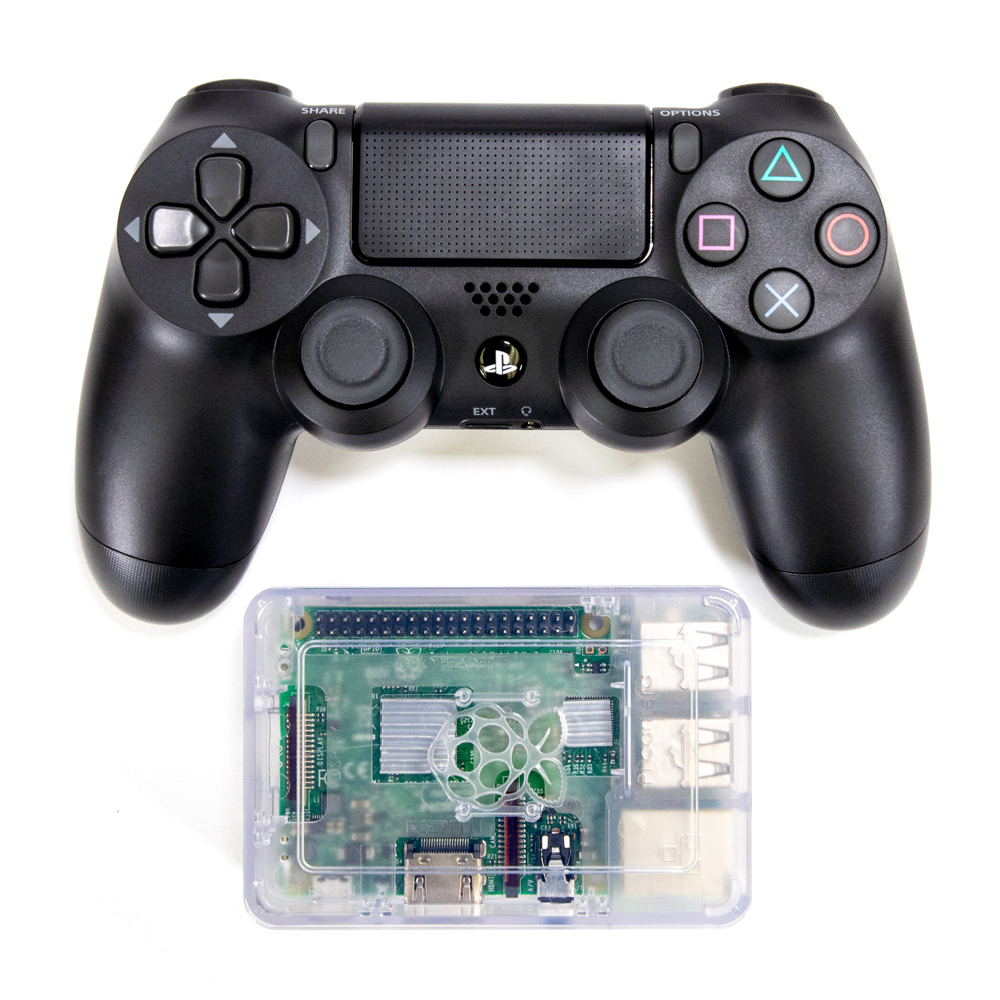 RPI3 / PS4 Bluetooth Control Set (ROS)